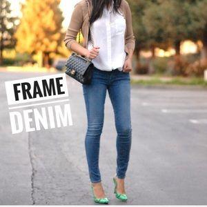 FRAME • Le Skinny de Jeanne Skinny Jeans Sz 28